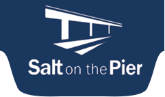 Salt on the Pier Retina Logo